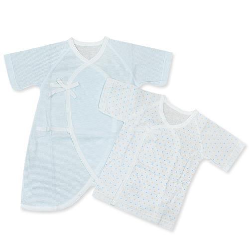 GMP BABY 日製棉點肚衣+兔裝(兩枚組)[免運費]