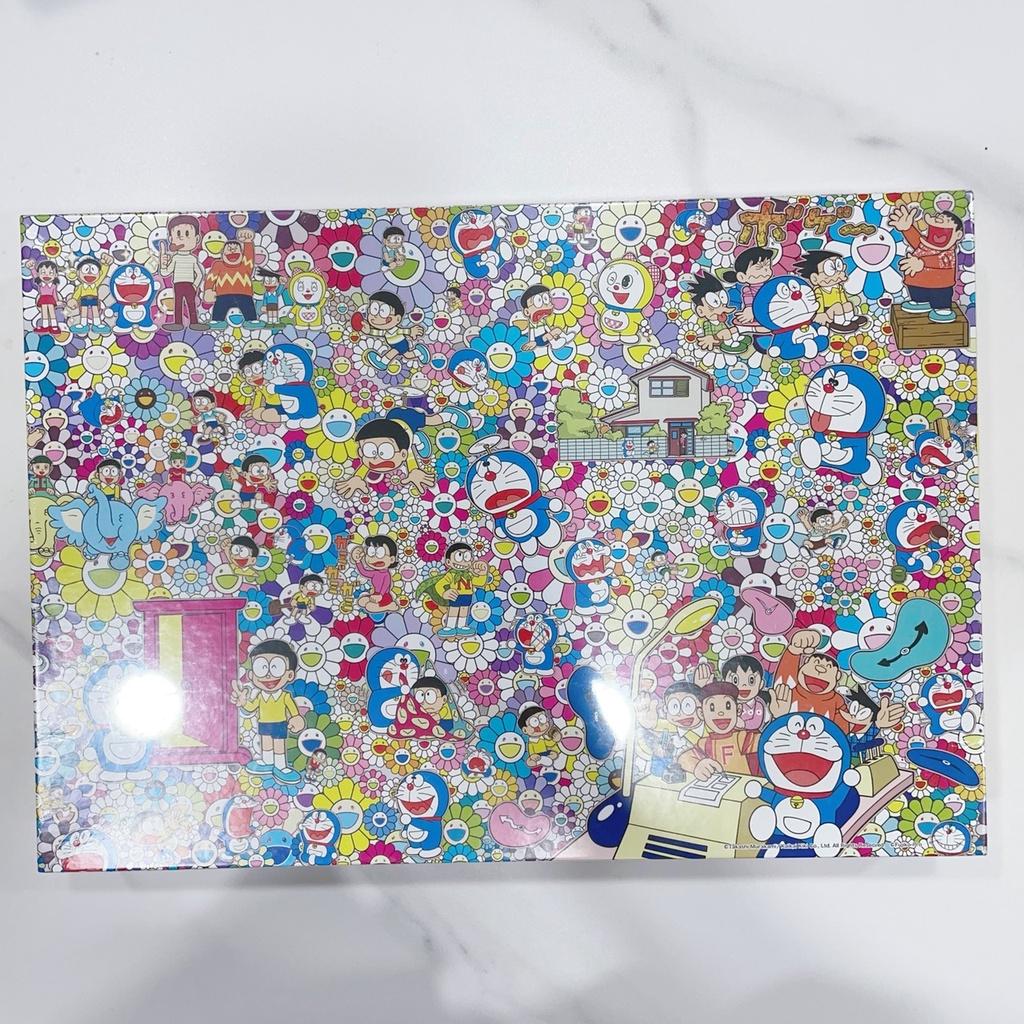 日本 村上隆 哆啦A夢 聯名 尋寶 拼圖 小花 小叮噹 1000片 卡通 收藏 畫