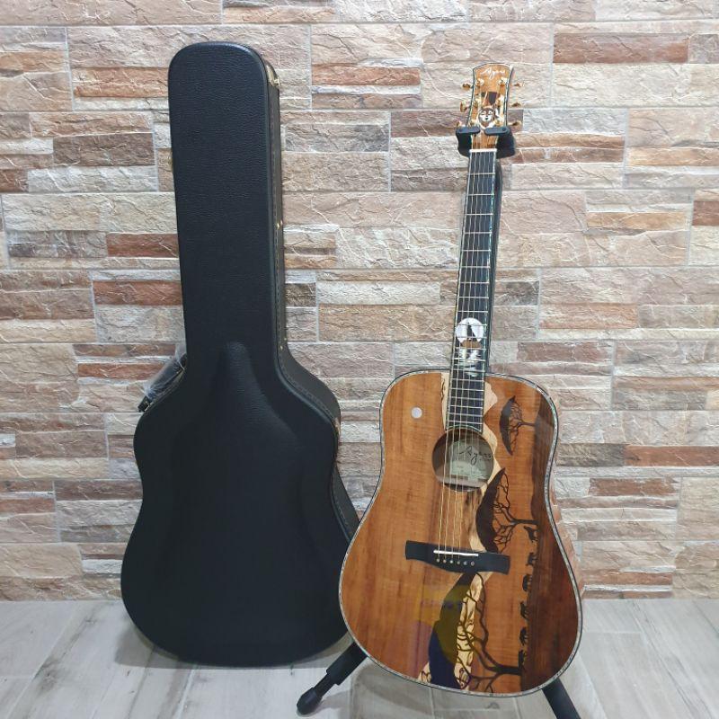 (預訂)Ayers 手工吉他 大師系列 狼群 全單板夏威夷相思木