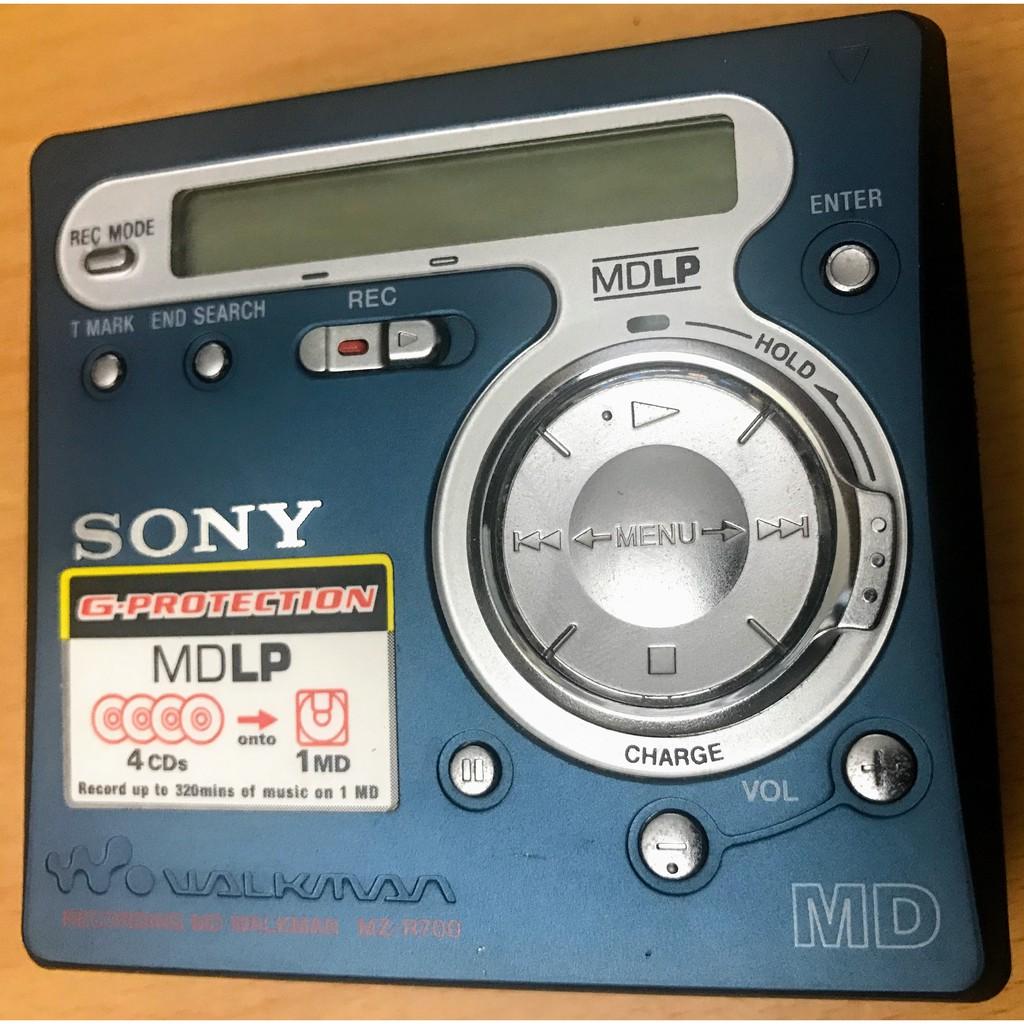 sony MD 隨身聽 MZ-R700 單機