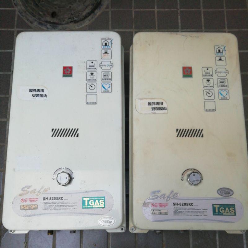 櫻花 室外型 二手 中古 熱水器,有保固,10公升