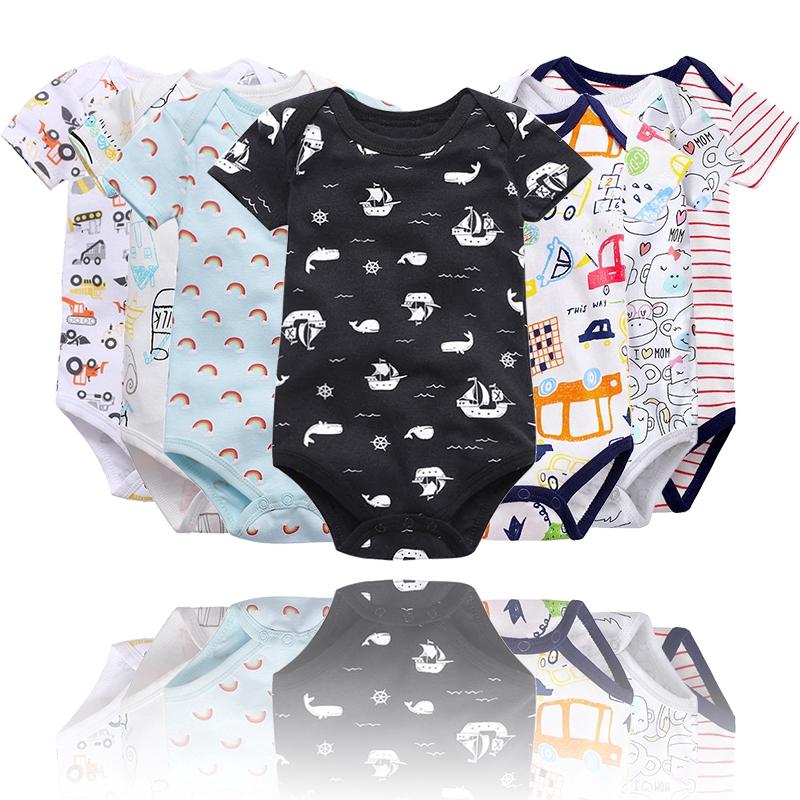Vlinder童裝男寶寶高品質純棉短袖包屁衣多色可選