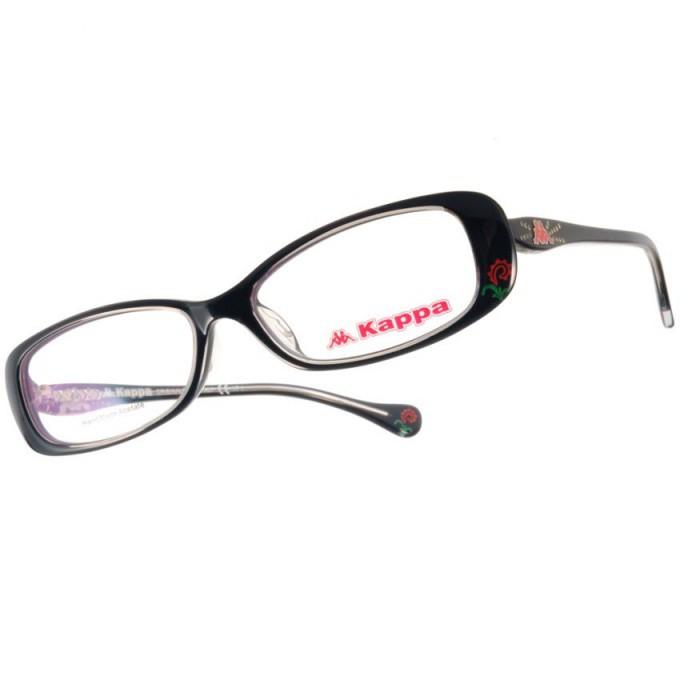 KAPPA 光學眼鏡 KP1010 BK 運動時尚款-金橘眼鏡