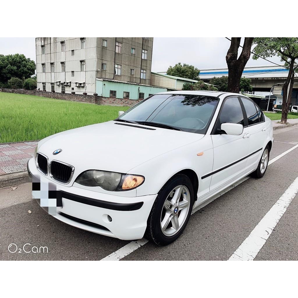 2002年BMW 318 2.0cc小改款 頂級天窗版