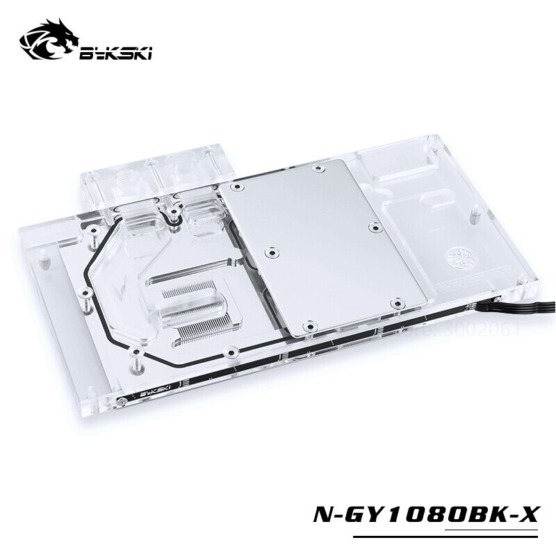 Bykski 水塊用於 GALAX GTX1060 / 1070 / 1070TI / 1080 EX OC GAMER