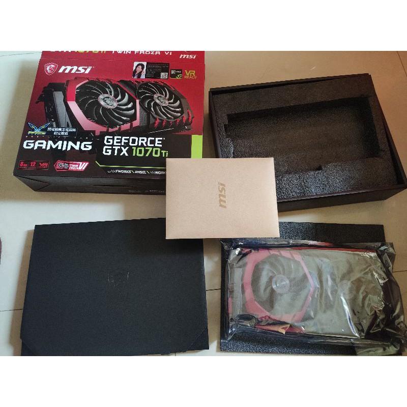 msi gtx 1070ti Gaming 電競板 8GB