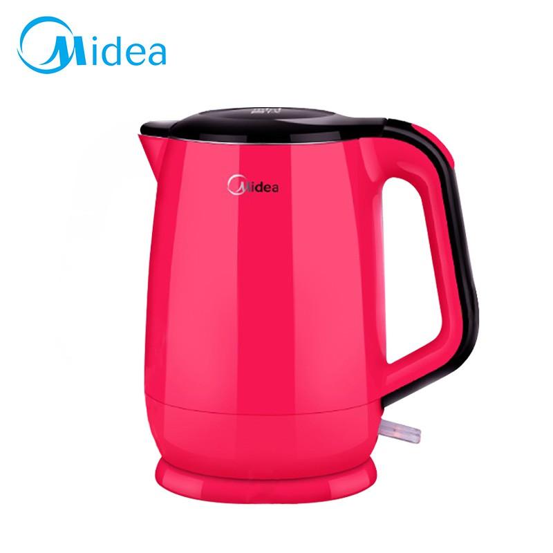 【美的】Mini食代304不鏽鋼雙層防燙快煮壺 電熱壺 熱水壺 熱水罐MK-HJ1501