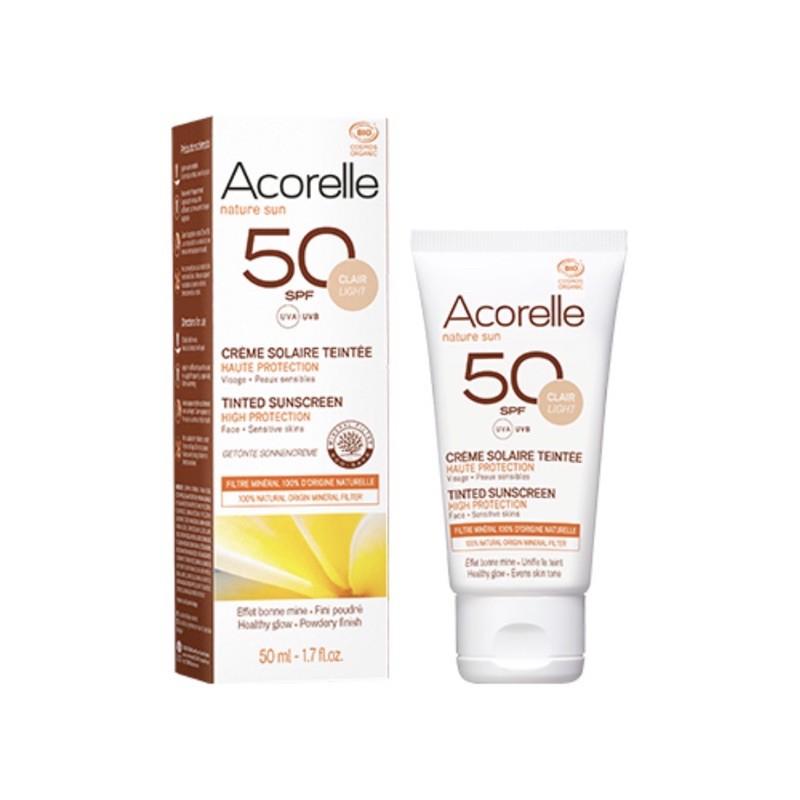 【墨菲】Acorelle 日光意境 全護植萃臉部防曬乳 SPF50 潤色 2020新升級 50ml