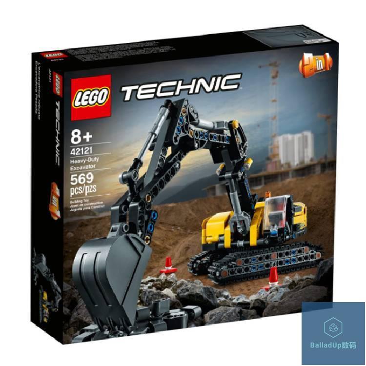【LEGO 樂高積木】42121 Technic 科技系列 - 重型挖土機