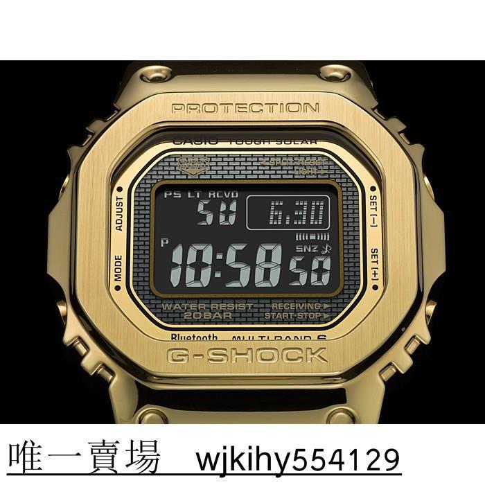 G-SHOCK GMW-B5000GD-9 (GMW B5000 金色 台灣卡西歐公司貨 )&