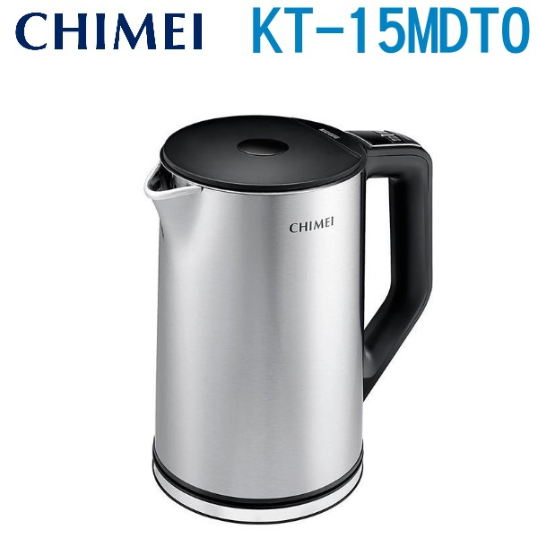 CHIMEI 奇美 1.5L 智能溫控不鏽鋼快煮壺 KT-15MDT0