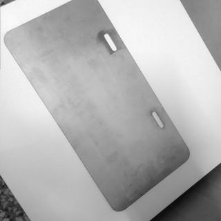 車牌底板(加厚版) 小七碼 小7 保護車牌 Gogoro車牌底板 白鐵 量多可優惠