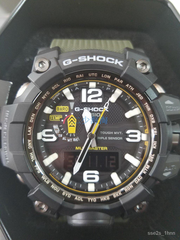 公司貨CASIO 卡西歐 G-SHOCK 泥王GWG-1000-1A3