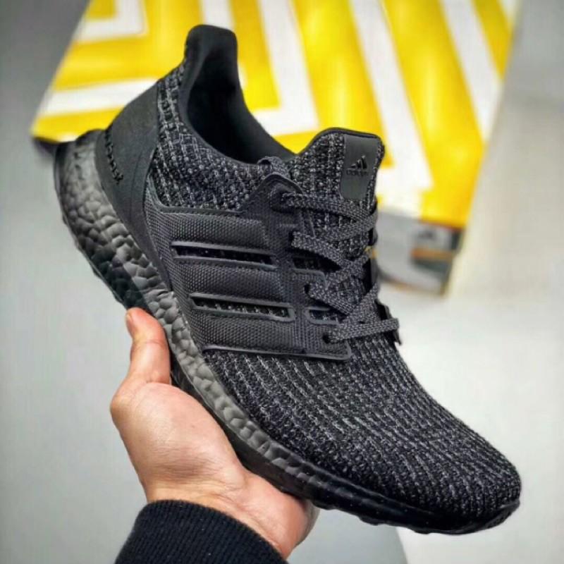 4ad1219e3c5d3 現貨香港代購Adidas Ultra Boost 4.0 全黑ub4.0 BB6171 36-45