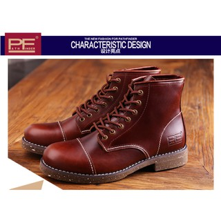 Evan`s 『 品味生活 』~PathFinder RW紅翼 8111復刻版 手工固特異大底 工裝靴 厚實牛皮耐磨防滑 台中市