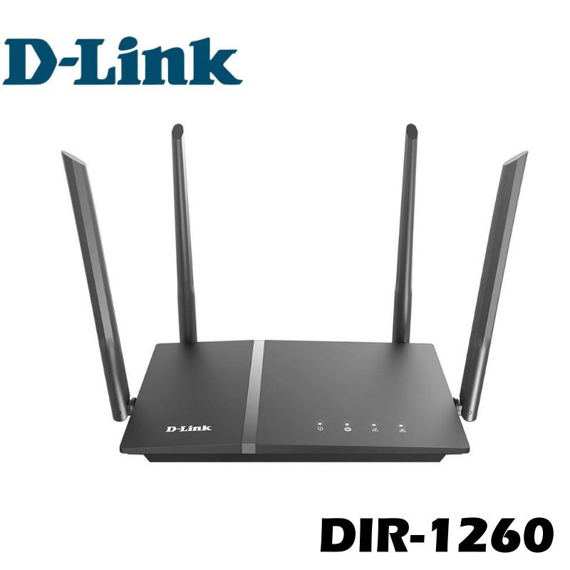 D-Link 友訊科技 DIR-1260 AC1200 MU-MIMO Gigabit 無線路由器