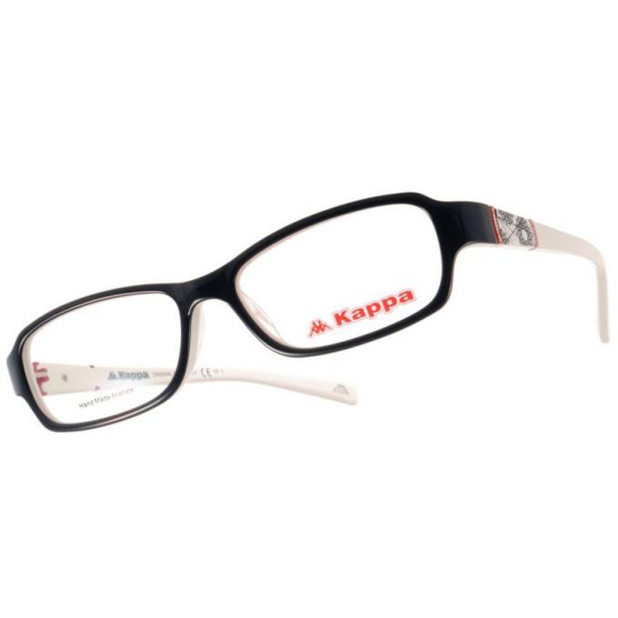 KAPPA 光學眼鏡 KP1020 BK2 圖騰美學設計款-金橘眼鏡