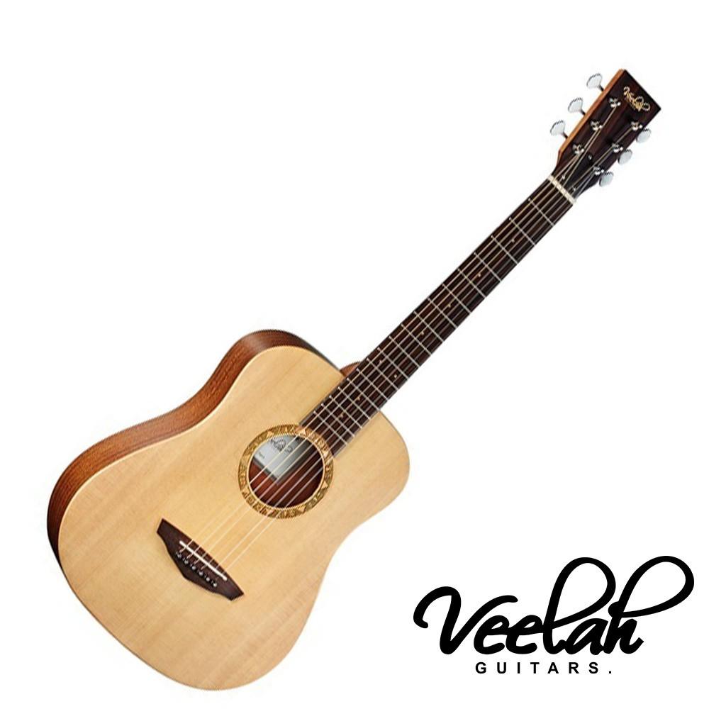 Veelah旅行吉他 Togo-S 34吋 小吉他 民謠吉他 雲杉單板 - 【黃石樂器】