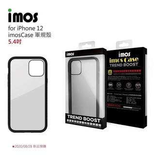 12系列現貨 原廠IMOS APPLE iPhone12 M系列 美國軍規認證雙料防震保護殼-潮流黑 高雄市