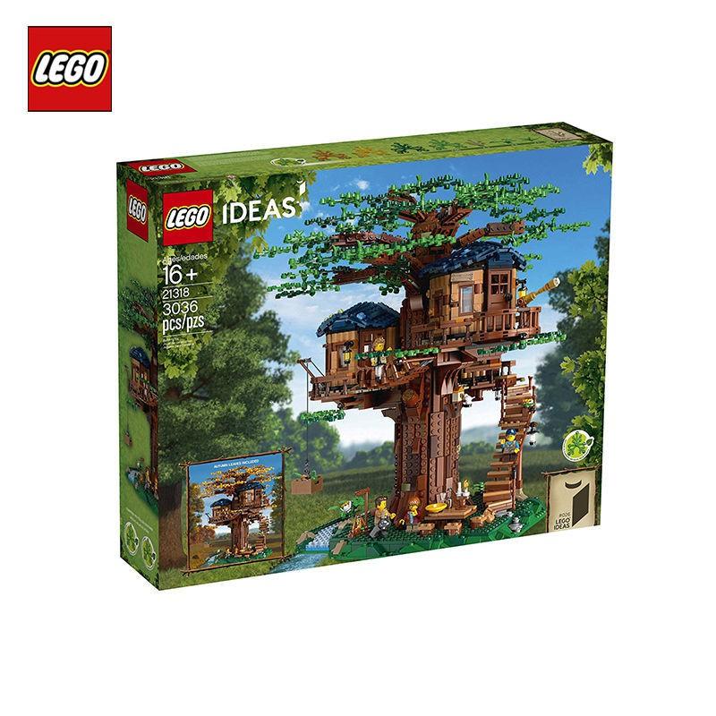 萱萱玩具賣場樂高樹屋櫻花21318房子別墅積木成年高難度巨大型女拼裝玩具LEGO