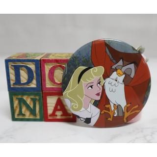 【Dona日貨】日本迪士尼store限定 睡美人奧蘿菈公主和貓頭鷹 胸章/ 別針/ 徽章 B40 台中市