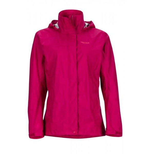 【Marmot】46200-6119 酒紅色 美國 女 PreCip 土撥鼠 防水外套