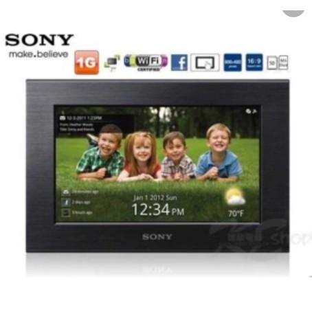 Sony S-Frame數位相框DPF-X75