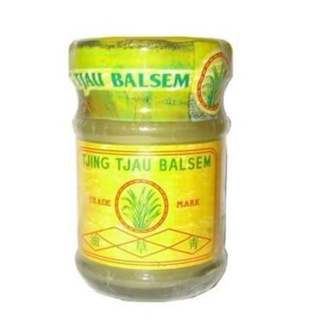 【印尼媽媽 】Tjing tjau balsem 青草油 青草膏 黃罐36g