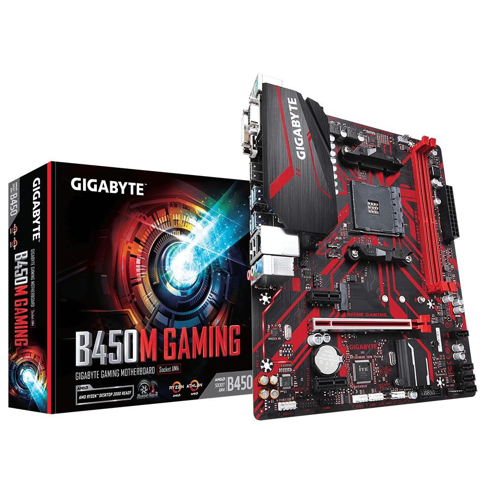 技嘉 B450M-GAMING 主機板 + AMD R5 3600