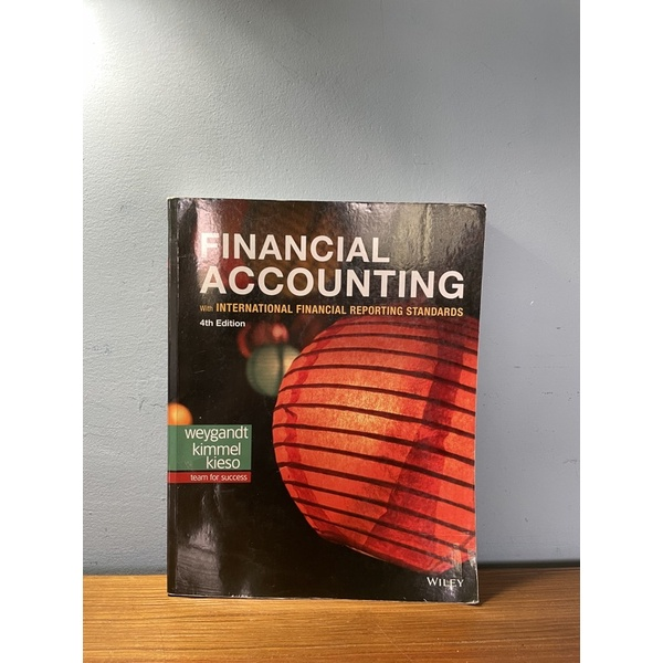 Financial Accounting with International 4e 9781119504306原文會計