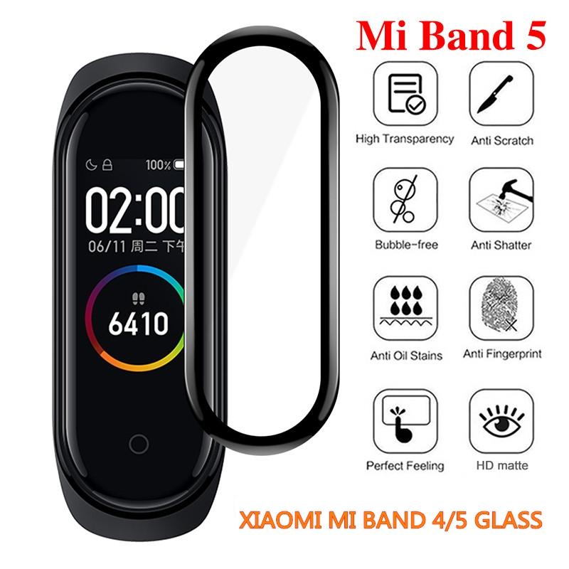 3D曲面保護貼 小米手環6 5 防刮 保護膜 Miband膜 全覆蓋高清屏幕保護膜 保護玻璃 玻璃貼 米4 米5 米6