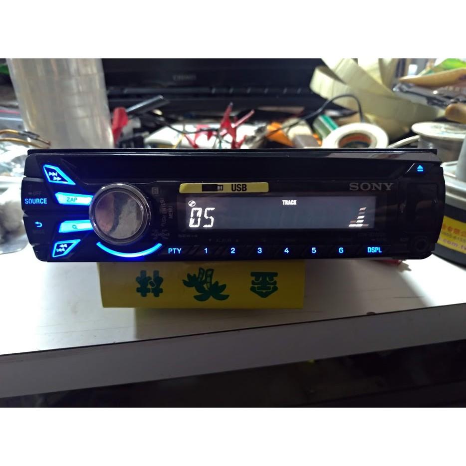 SONY 索尼 CDX-GT522U 音響主機 CD/MP3/WMA/FM/AM/前置USB/AUX 二手 汽車 音響