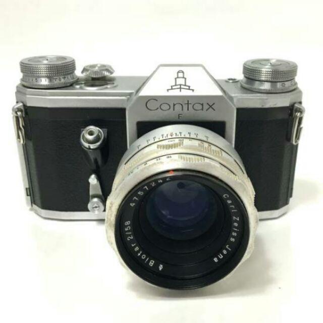 老機師 carl contax F 58mm f2 biotar 手動 經典 底片 單眼相機
