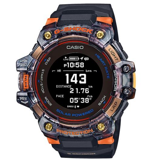 【天龜】CASIO G-SHOCK G-SQUAD運動系列 太陽能多功能藍牙運動錶 GBD-H1000-1A4