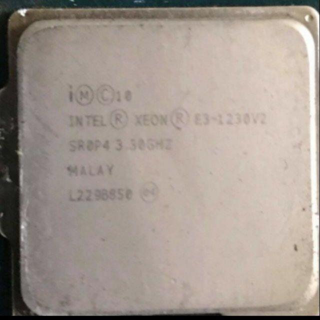 CPU—E3 1230v2