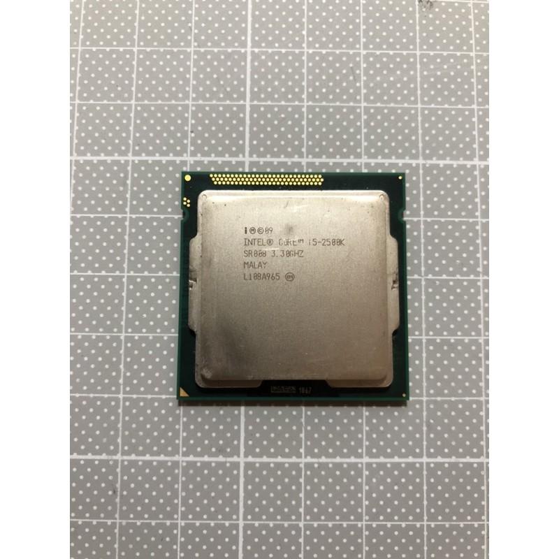 Intel i5-2500k i5 2500k CPU 超頻神U 1155腳位