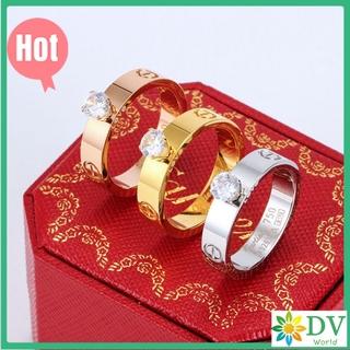 卡地亞 單鑽 戒指 Cartier 卡地亞 戒指專櫃 正品定製採用進口 5A鋯石 韓版戒指 情侶戒指 婚戒