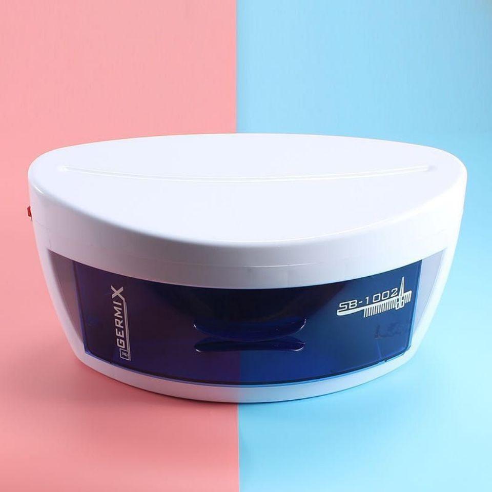 【消毒器】【消毒盒】消毒燈】【除螨】消毒盒美容美發美甲工具消毒柜單層毛巾8W紫外線消毒器UV-STERILI