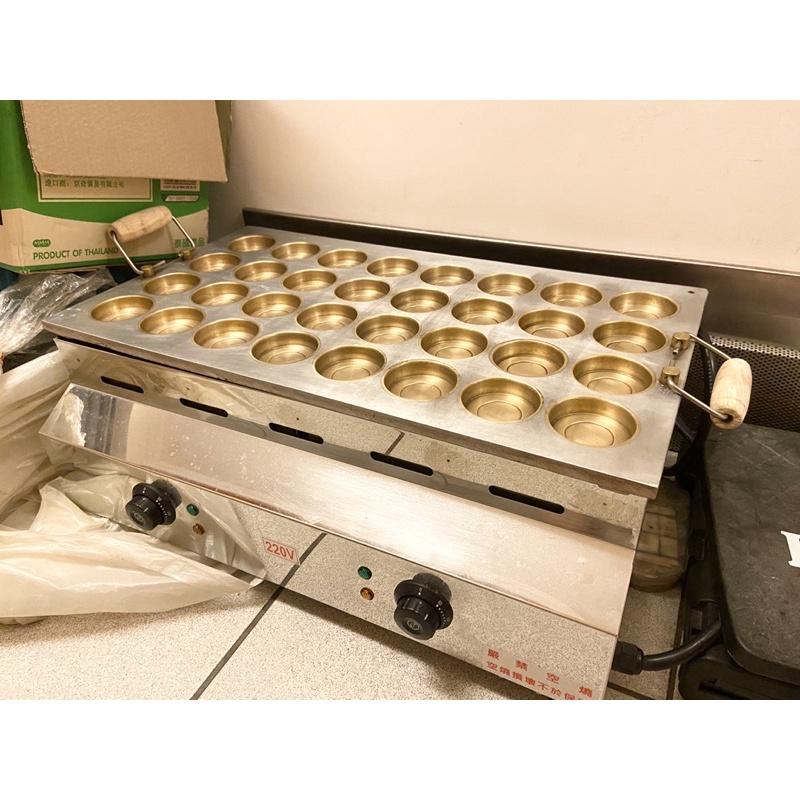 **9成新**二手紅豆餅機.32孔.電熱式