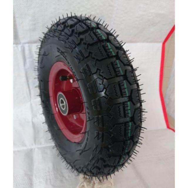 全新 4.00-6 14吋風輪 推車輪 車輪 單獨耐磨耗外胎+內胎(無輪圈)