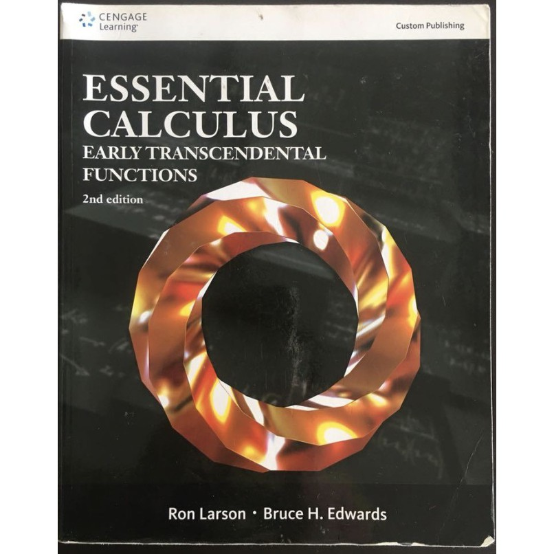 Essential Calculus—Early Transcendental Functions 2nd 『凱文書局』