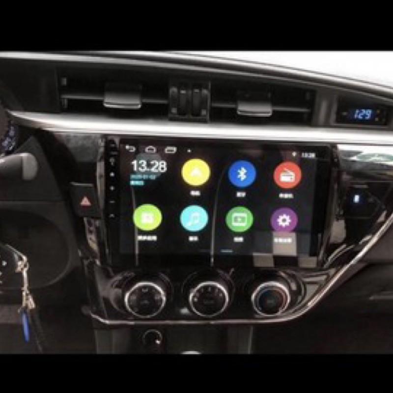 現貨 保固 10.2吋通用型全觸控汽車現貨 音響安卓主機 2DIN 觸控螢幕雙碇機 安卓機 衛星導航 安卓系統2G+16