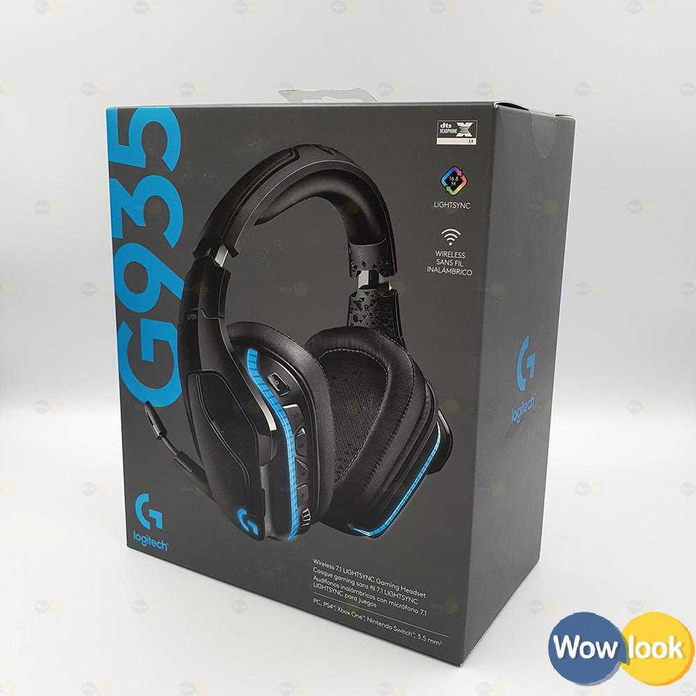 Logitech G935 遊戲耳機麥克風|羅技 RGB 7.1環繞音效聲|保12個月【Wowlook】