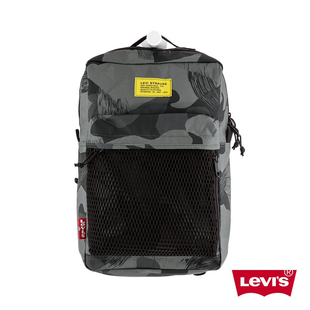 Levis 男女同款 L1機能後背包 / 雪地迷彩 / 都會電腦包-熱銷單品 38004-0248