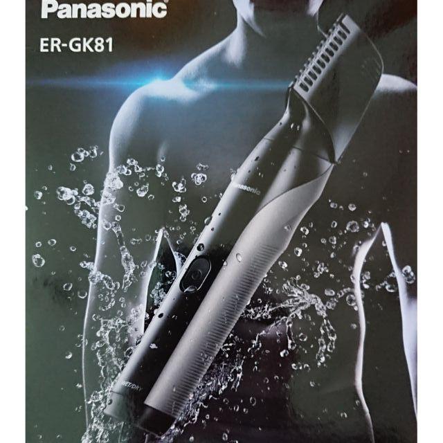 〔台灣現貨 當天出貨〕Panasonic ER-GK81 ER-GK80  男士 美體修容刀