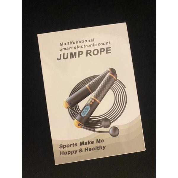 多功能跳繩(Multifunctional Smart Electronic count Jump Rope)