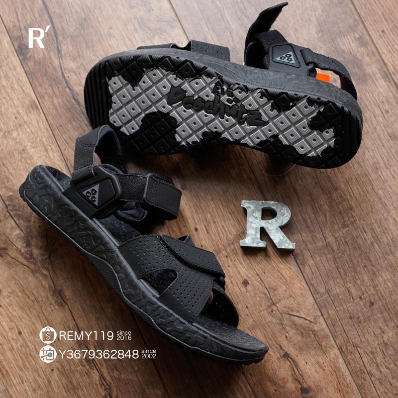 R'代購 Nike ACG Air Deschutz 黑灰 山系 越野 運動涼鞋 CT2890-005 男女