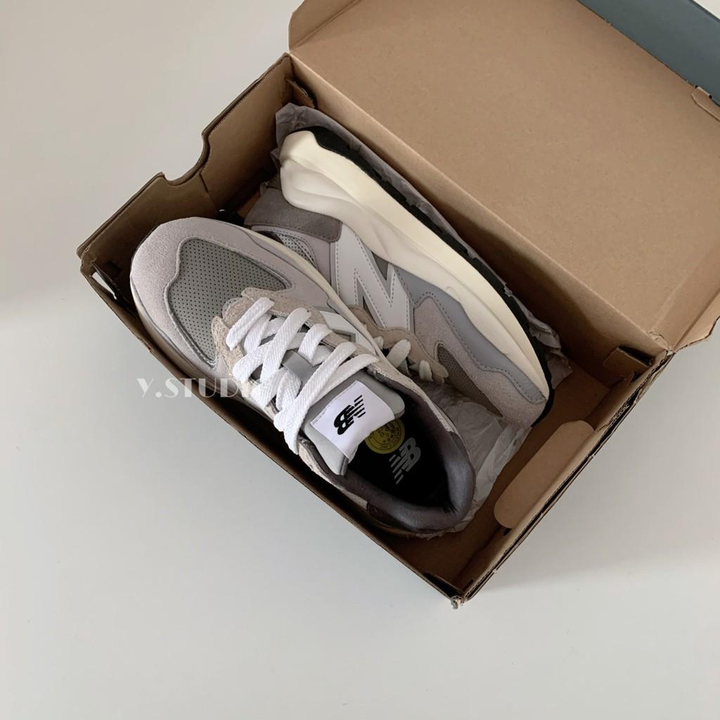 New Balance 5740系列 nb5740 灰白 灰色 元祖灰 米白 增高 厚底老爹鞋 M5740TA