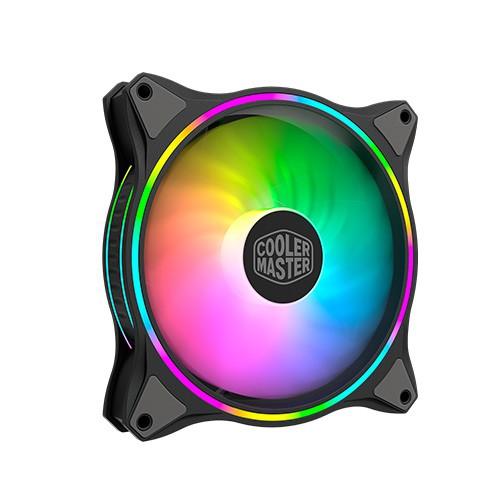 CoolerMaster MasterFan MF140 Halo PWM ARGB風扇 黑色