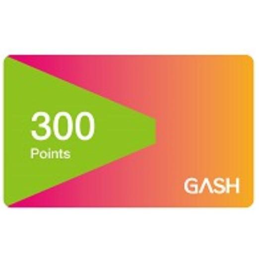 【300點】 GASH 點數 可存 Beanfun! app 星城 天堂R